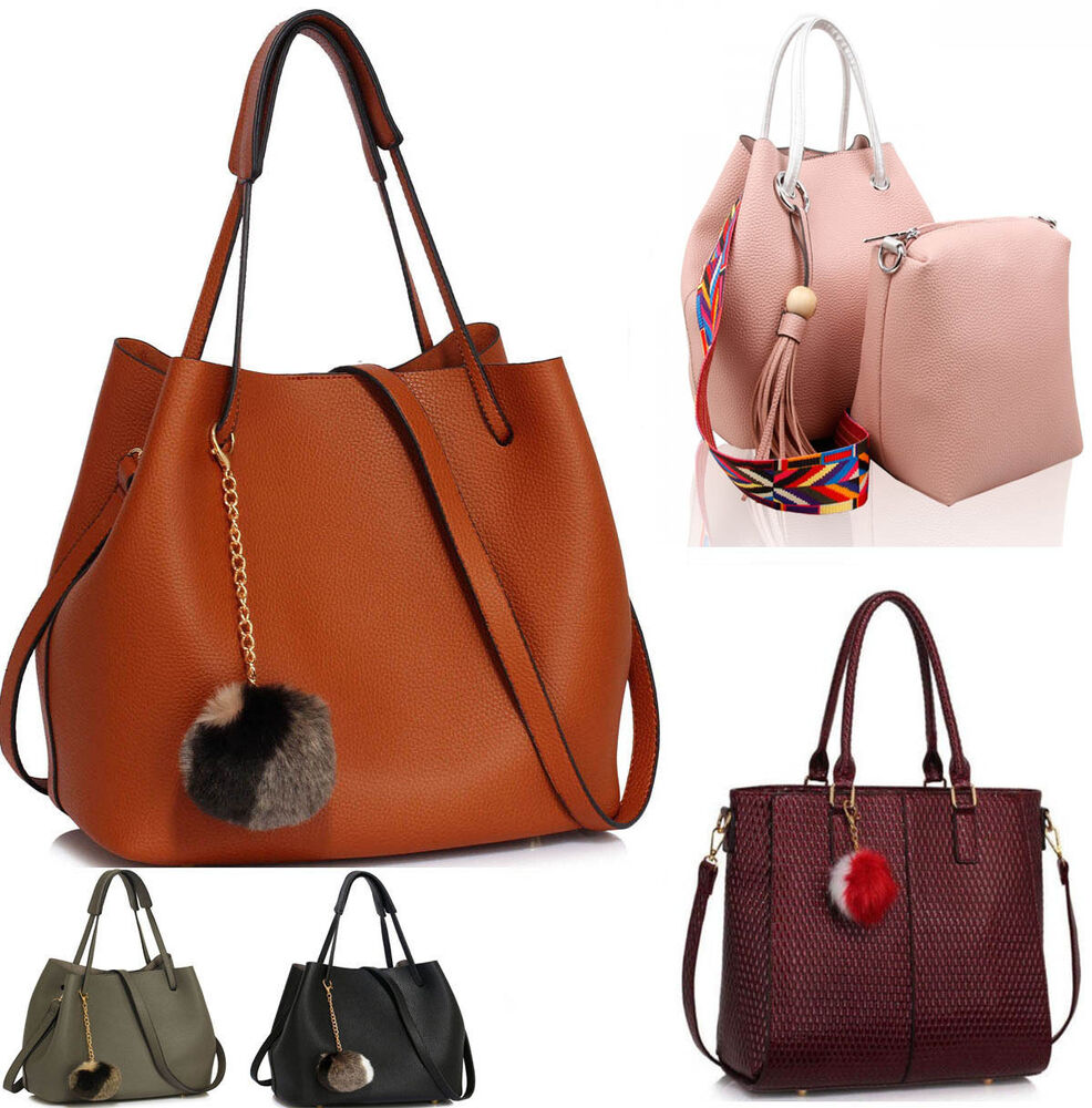 f5931a23c22 Details about LeahWard Women s Large Shoulder Handbags Tote Bag For Women  Work School College
