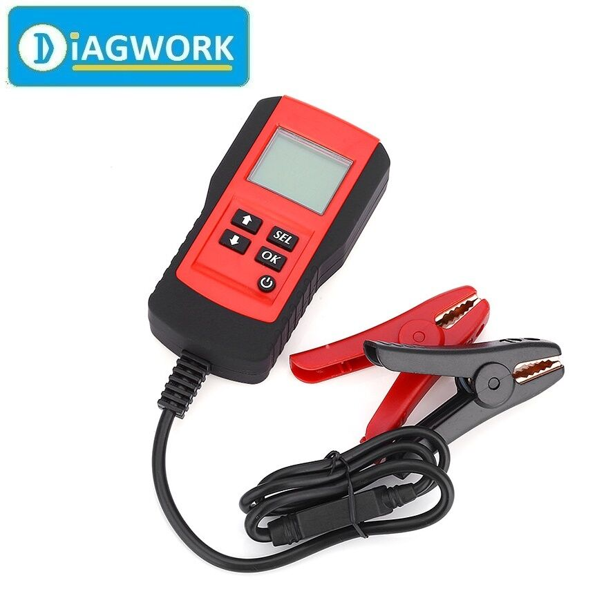 12v car digital battery tester analyzer auto diagnostic tool with backlight lcd ebay. Black Bedroom Furniture Sets. Home Design Ideas
