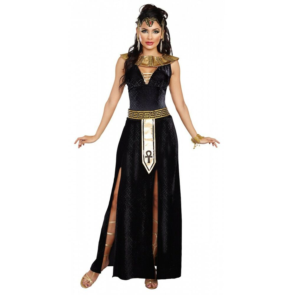 cleopatra costume adult egyptian goddess halloween fancy. Black Bedroom Furniture Sets. Home Design Ideas