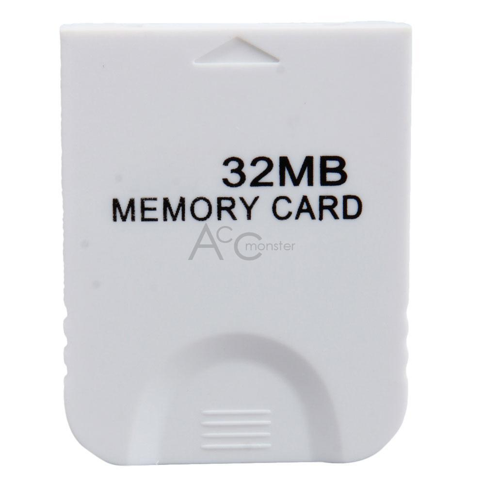 32mb memory card storage for nintendo gamecube game wii system ebay