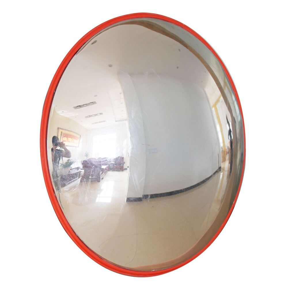 457135 traffic security road safety convex mirror dirveway for Convex mirror