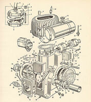 WOLSELEY OPERATING INSTRUCTIONS AND SPARE PARTS LIST ON CD
