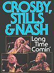 Crosby, Stills & Nash - Long Time Comin' (DVD, 2004) Used