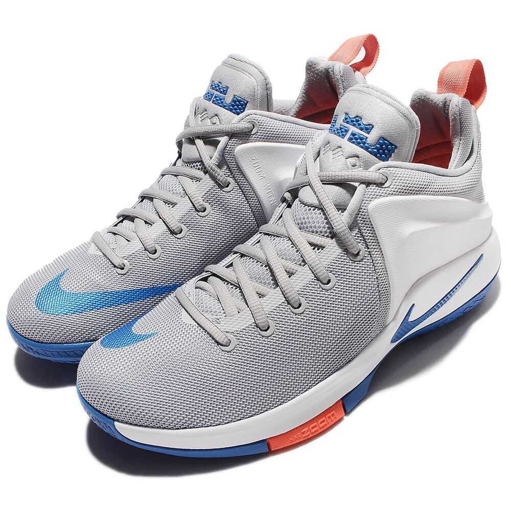 Nike Zoom Witness EP Lebron James Grey Blue Mens ...