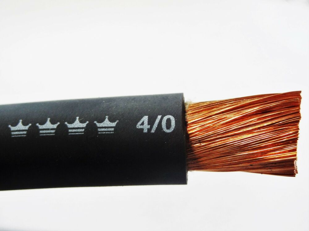 20 4 0 Excelene Welding Cable Black Made In Usa 600v Up