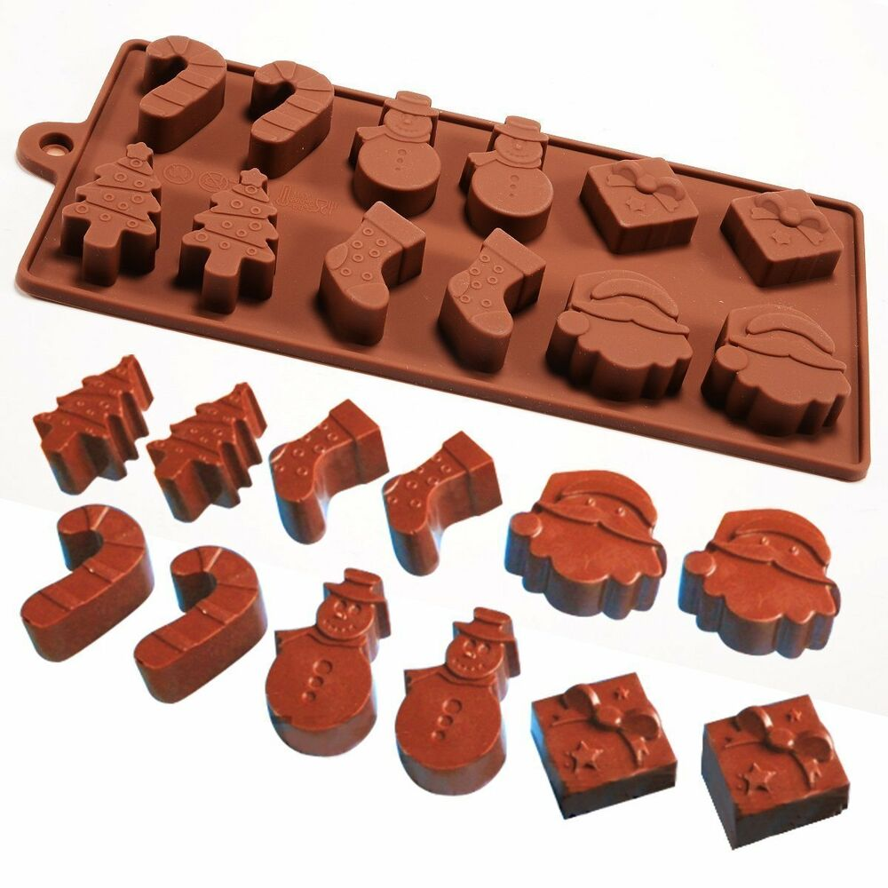 Christmas Soap Molds