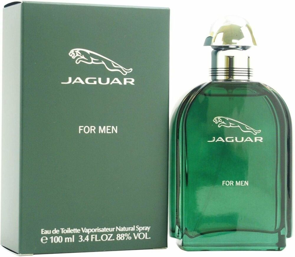 Jaguar Perfume For Mens Price: JAGUAR By Jaguar For Men Green Cologne 3.4 Oz Spray Edt New In Box
