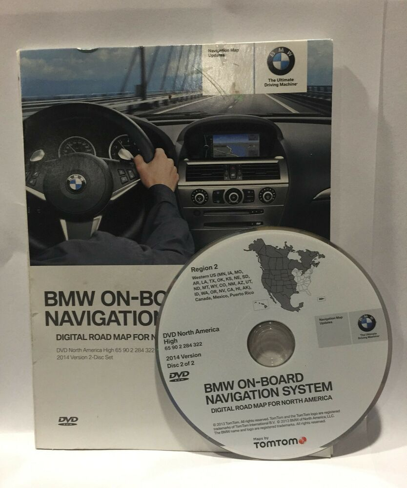 Bmw Z4 Update: Authentic BMW X3 X5 (E53) Z4 Navigation DVD CD # 322 WEST