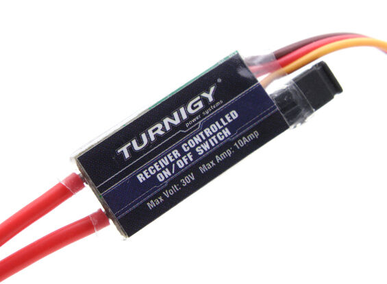 Turnigy Receiver Controlled Switch Rx Lights Sound Smoke