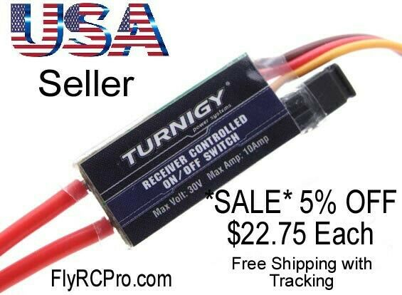 Turnigy Receiver Controlled Switch RX Lights Sound Smoke Special Effects