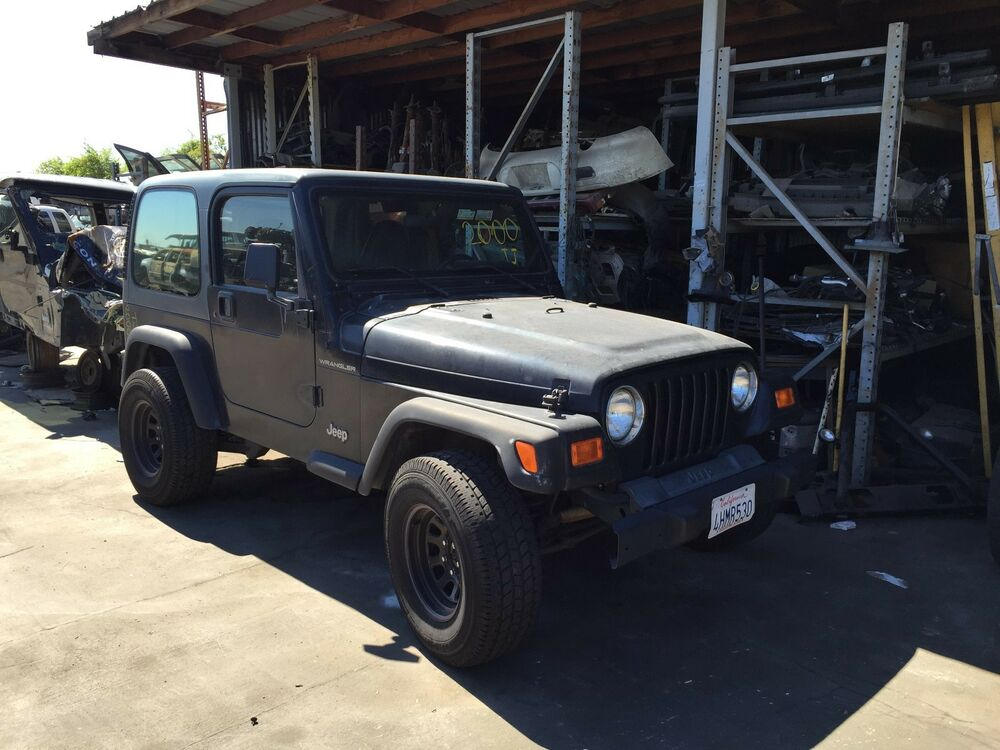 1997 2002 Jeep Wrangler Tj Bare Tub With Roll Bar Cage