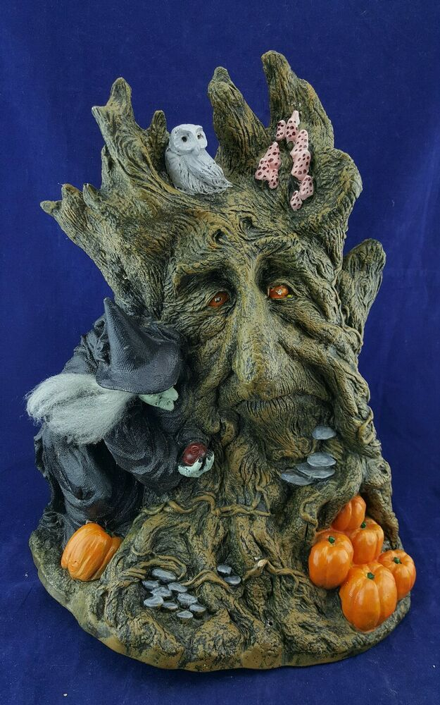 Paper magic group haunted tree halloween decoration mold Vintage halloween decorations uk