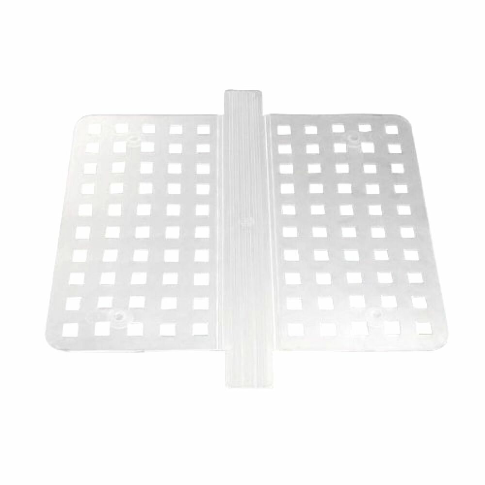 Double Sink Saddle Divider Middle Protector Mat Clear