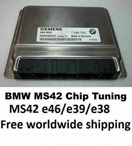 Bmw Z3 Performance Chip: BMW MS42 Chip Tuned ECU, EWS Deleted, Fits Z3 E46 E39 E38