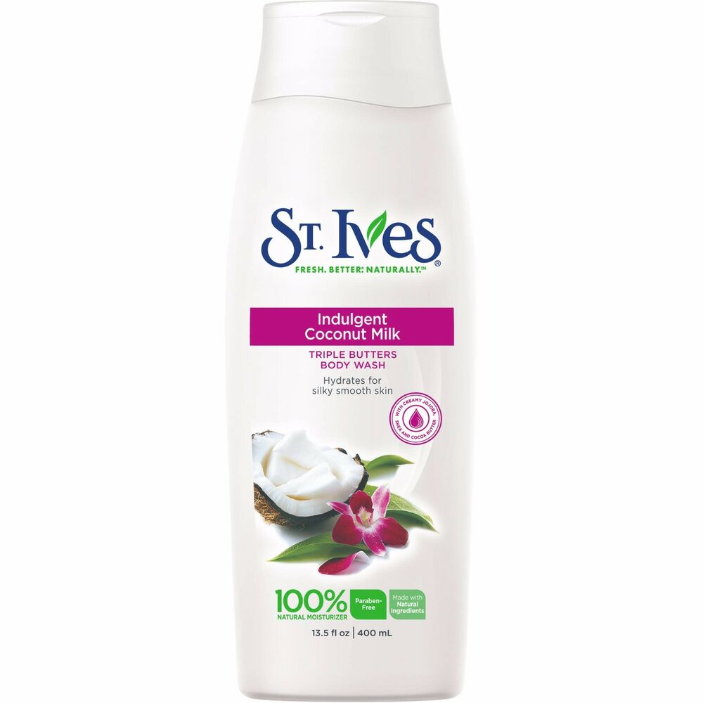 St Ives Body Wash Coconut 135oz 77043101407 Ebay Apricot Exfoliating 400ml