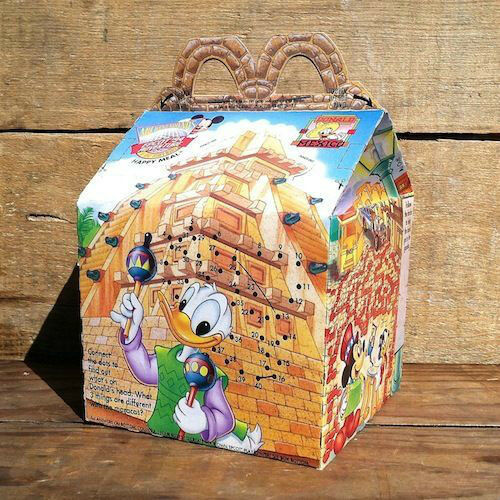 Mcdonald Wholesale Home: Original McDonalds HAPPY MEAL DISNEYLAND Epcot Party Box