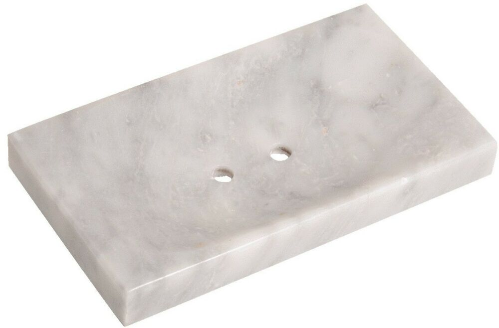 Rectangle Handmade Natural Stone Marble Soap Dish 6 X 3 5