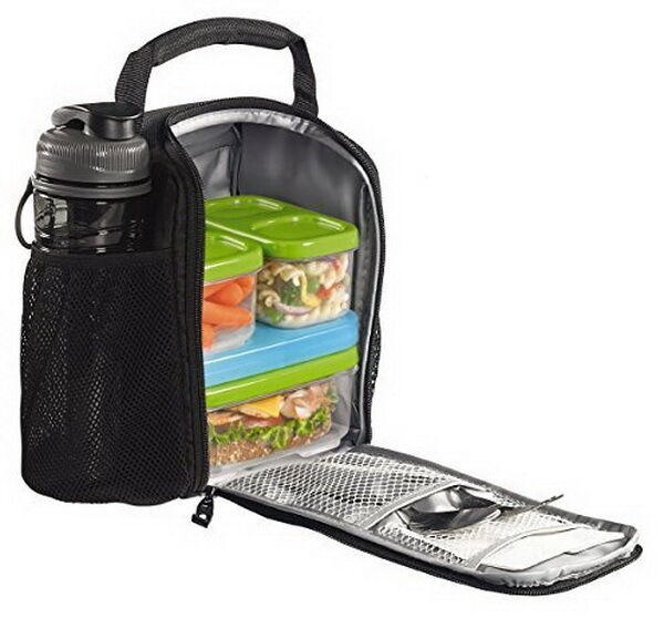Insulated Lunch Bag Food Storage Container Kids School