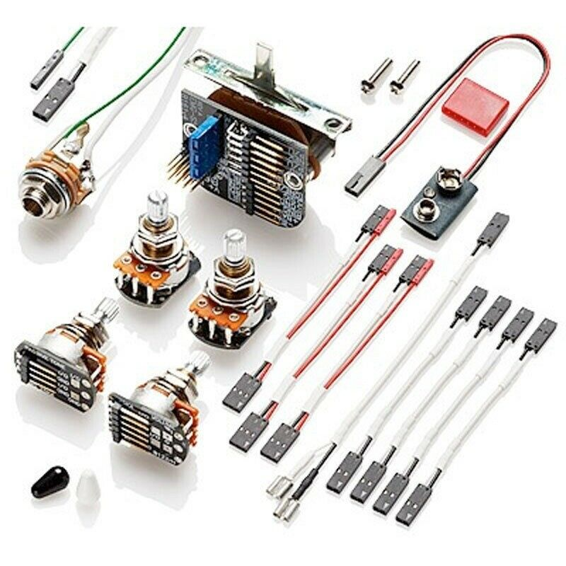 Solderless Guitar Wiring Kit : new emg solderless wiring conversion kit 3 pickups short shaft w 5 way switch 654330800597 ebay ~ Hamham.info Haus und Dekorationen