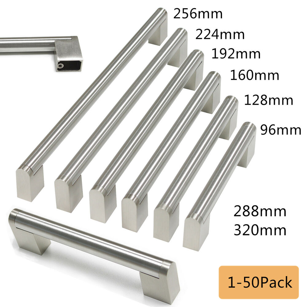 Door Handles Kitchen Cabinets: USA Boss Bar Stainless Steel Kitchen Cabinet Handle Drawer