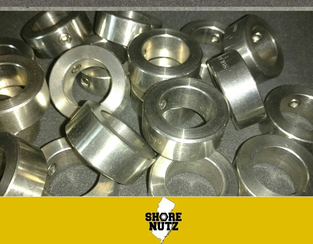Quot stainless steel shaft collar set screw stop ssc