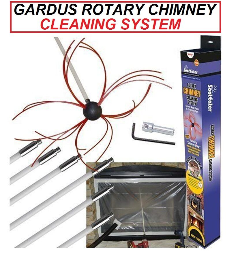 Gardus Sooteater Rotary Chimney Cleaning System Rch205