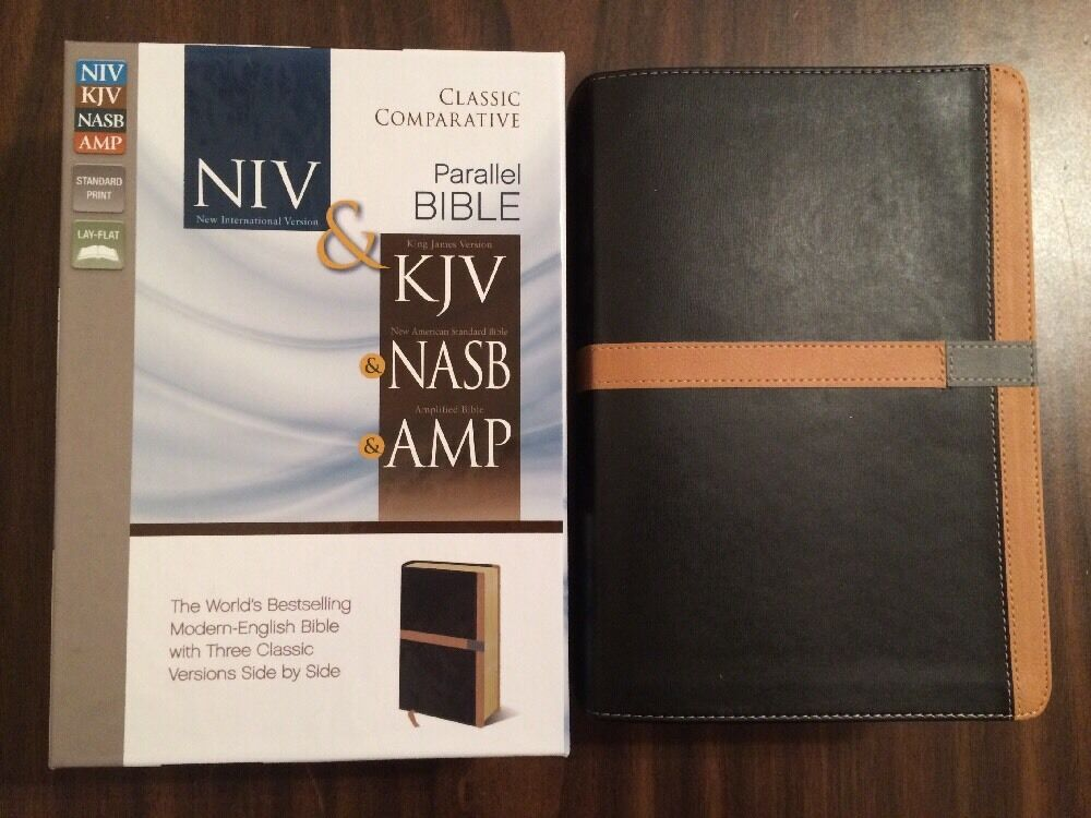 KJV Amplified Parallel Bible | eBay