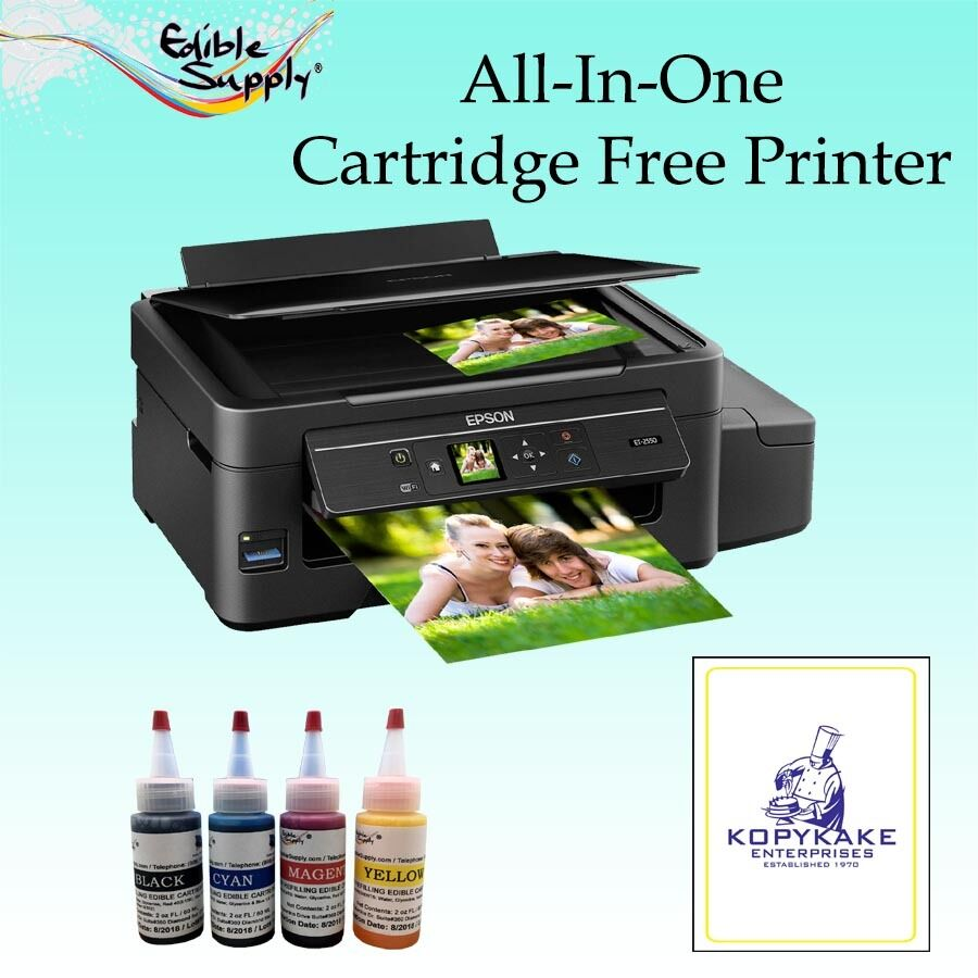 Edible Printer - Epson Cartridge Free Printer W/ KopyKake ...