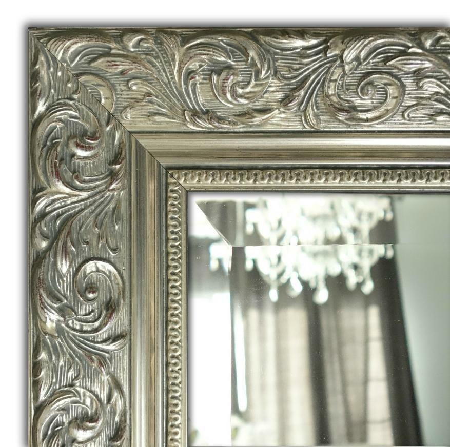West Frames Bella Ornate Embossed Antique Silver Gold Wall