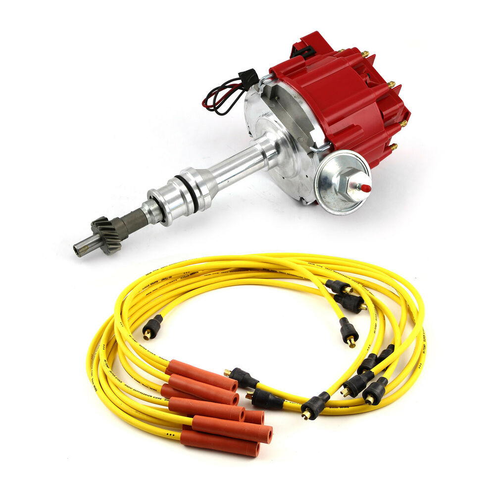Accel Plug Wires Ford Schematics Wiring Diagrams Dfi Gen 6 Diagram 302 351 Cleveland Hei Distributor Spark Ignition Combo Kit Ebay Header Plugs For Prestolite
