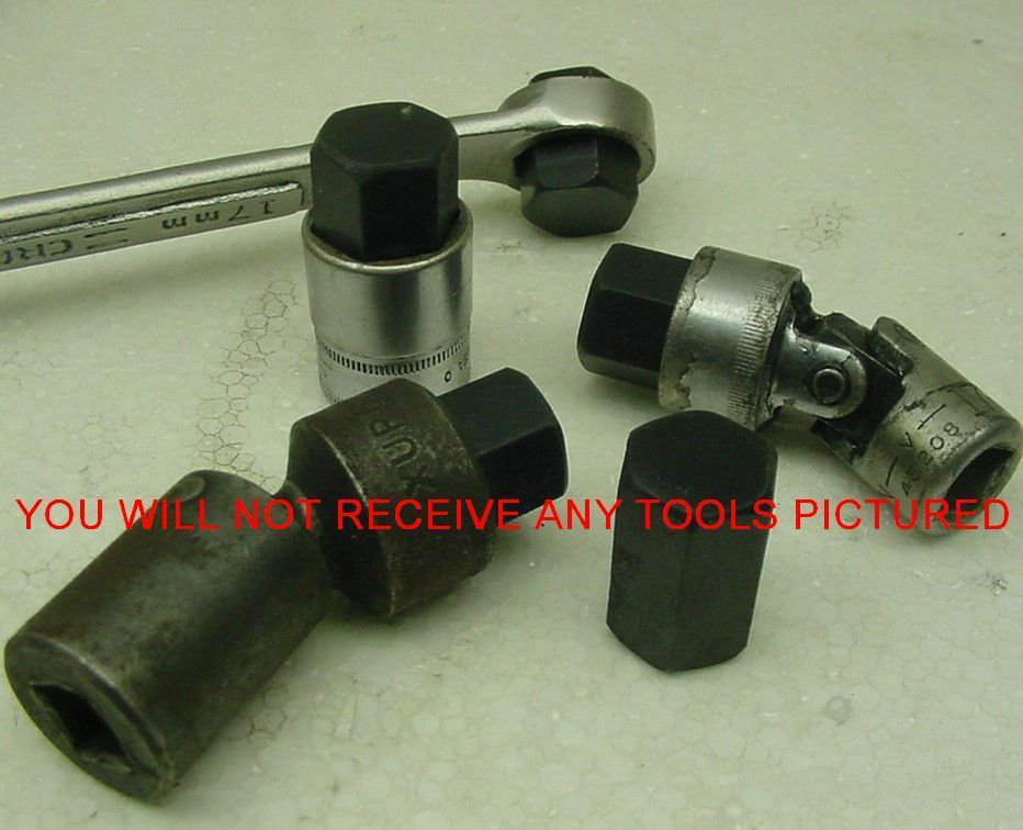 Tool 17mm Transmission Drain Plug Wrench Allen Stubby Jeep