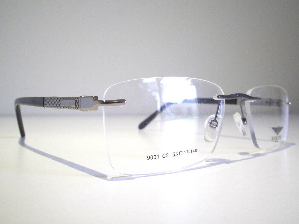 b35768cd53e Rimless Glasses Ebay