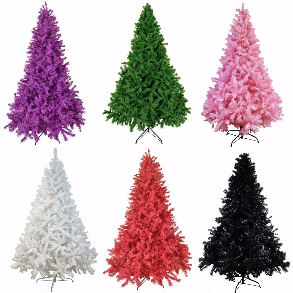 Xmas Artificial Deluxe Quality Christmas Trees 5ft To 12ft