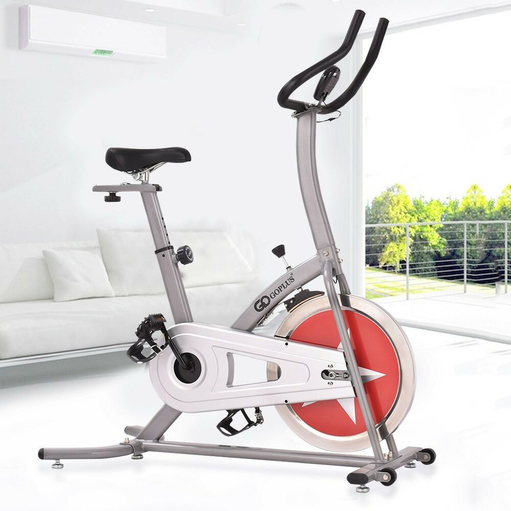 Exercise bicycle bike adjustable home gym fitness indoor