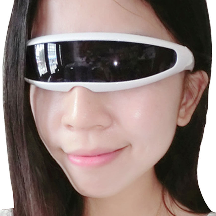 259a74f7a1b4 Details about Futuristic narrow glasses