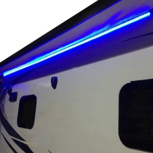12 Volt Lights Flicker In Rv: RecPro™ RV 12' BLUE LED Awning Party Light W/Mounting