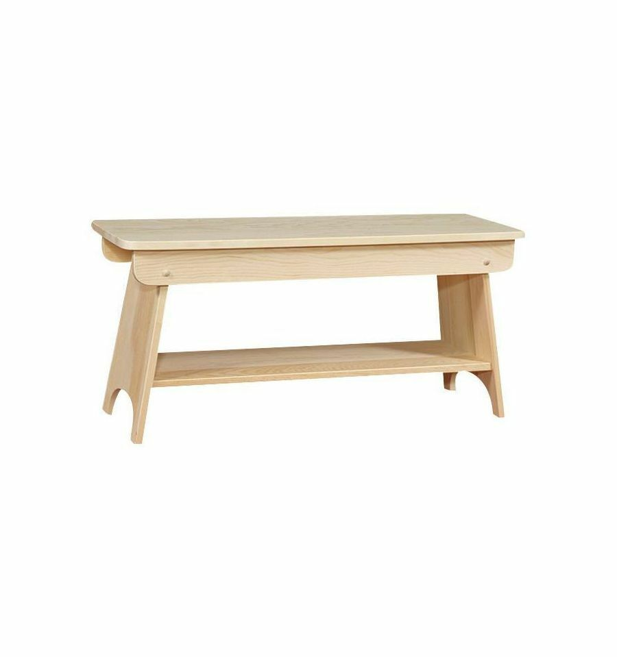 Amish Solid Pine Unfinished 48 Quot Country Farm Table Bench