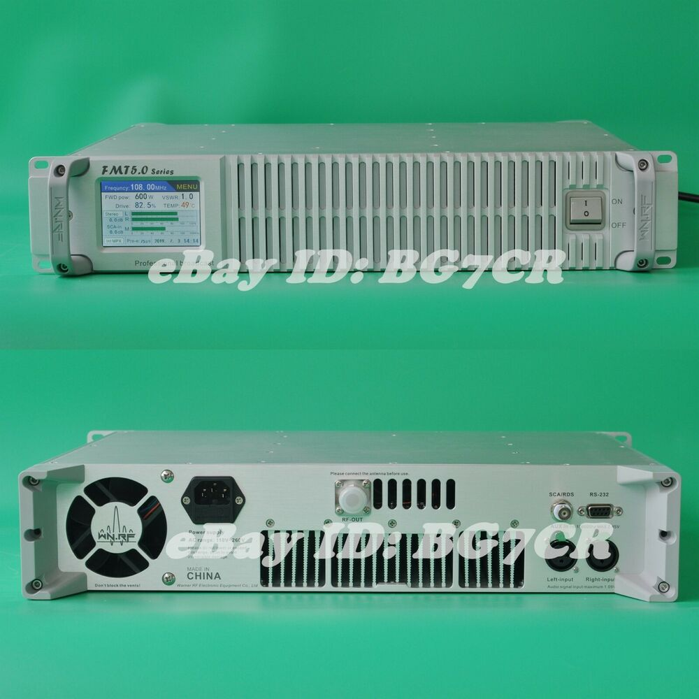 Fm Control Board Fme 1b 4 For Warner Fmt 600h Amplifier Pallet Circuit