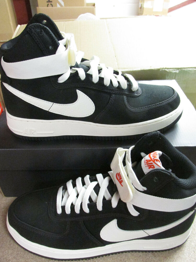 nike air force 1 high retro mens hi top trainers 832747. Black Bedroom Furniture Sets. Home Design Ideas