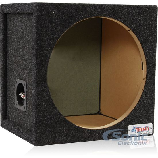Atrend 12sq 12 single small pro series sealed subwoofer for Bbox atrend enclosures 12