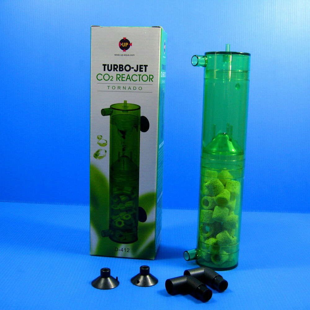 Co2 turbo jet reactor diffuser atomizer for 15 150gal for Co2 fish tank
