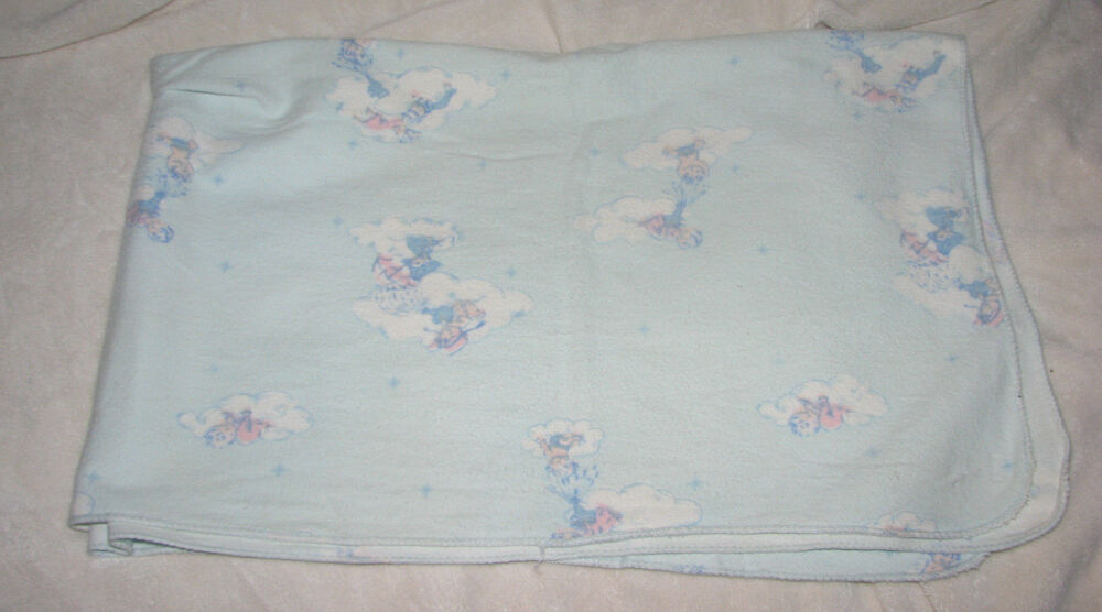 Vintage Comfort Receiving Hospital Baby Blanket Cotton