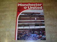 1978/79 DIVISION ONE - MANCHESTER UNITED v BOLTON WANDERERS