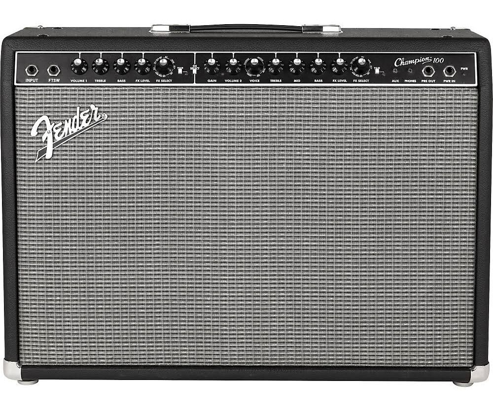 new fender champion 100 guitar combo amp 100 watts ebay. Black Bedroom Furniture Sets. Home Design Ideas