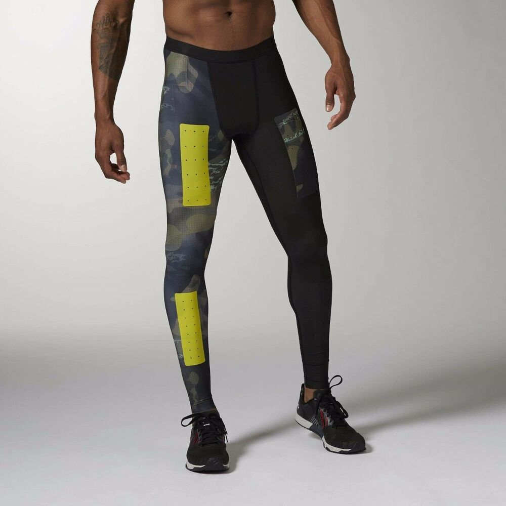New Men's REEBOK Crossfit Compression Tights Built with ...
