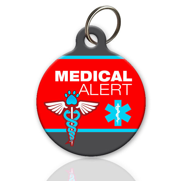 Medical Alert Pet Id Tag Custom Id Tag For Dog Or Cat