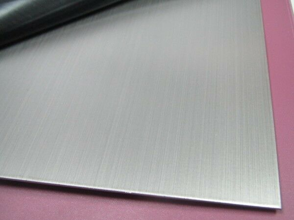 Brushed Stainless Steel Sheet 300 X 100 X 0 9 Mm