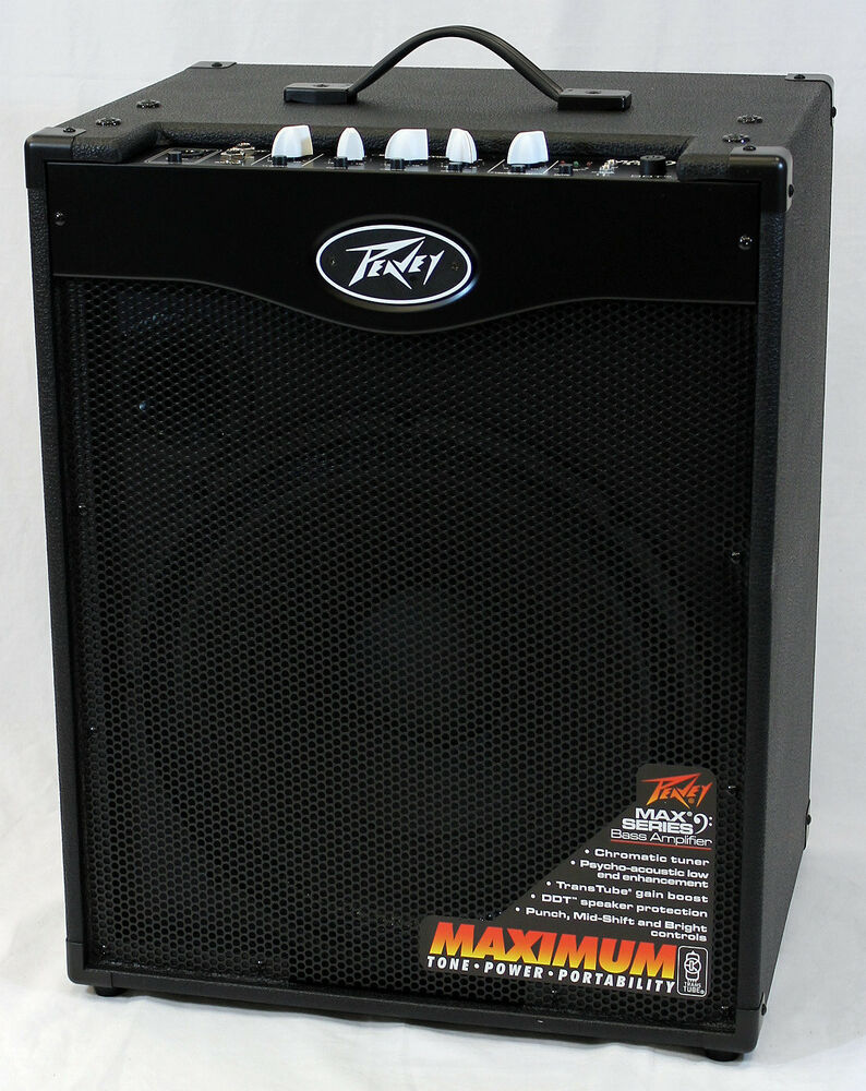 peavey max 115 ii electric bass guitar 300 watt combo amplifier 14367113174 ebay. Black Bedroom Furniture Sets. Home Design Ideas