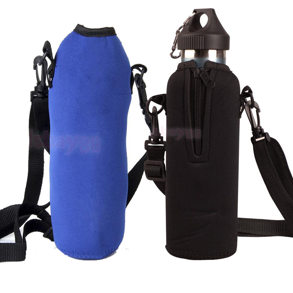Water Bottle Strap: 25oz /33.8oz Water Bottle Insulated Cover Holder Carrier