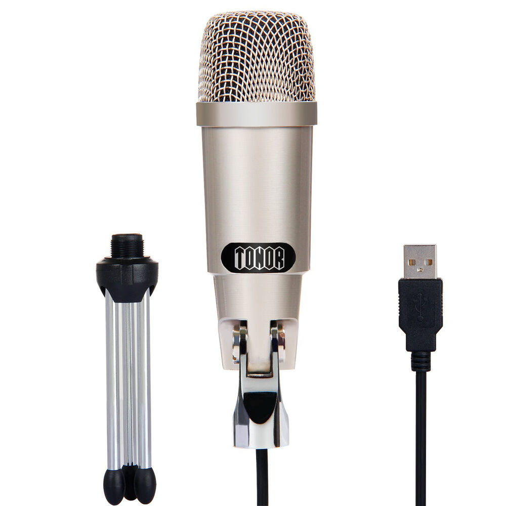 tonor professional usb computer condenser microphone mic for mac pc youtube ebay. Black Bedroom Furniture Sets. Home Design Ideas